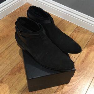 YSL men's boots